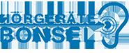 Logo HÖRGERÄTE BONSEL